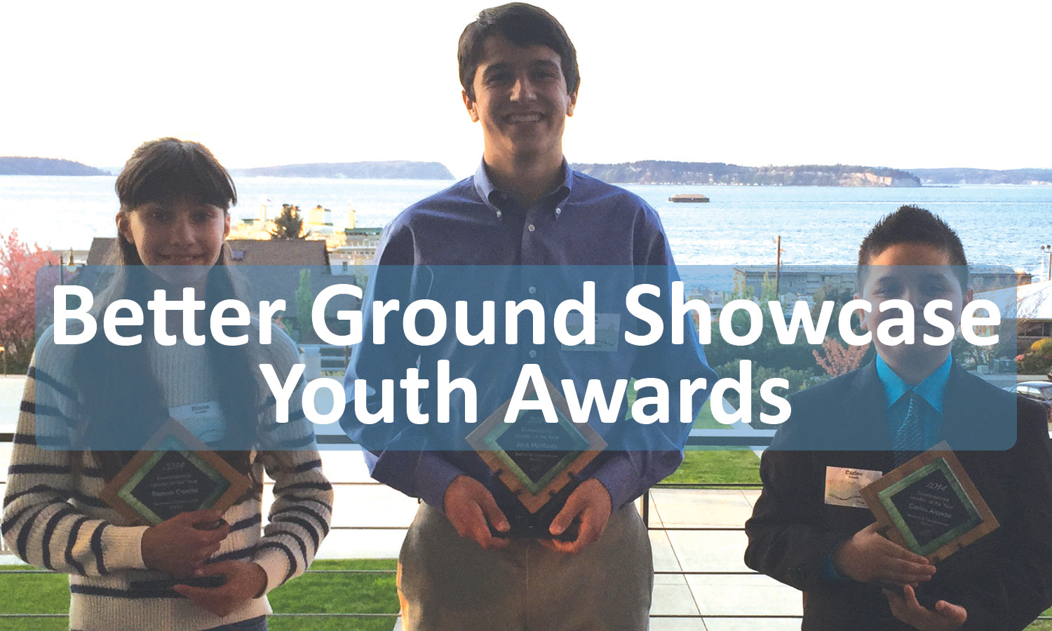 Button for Better Ground Showcase Youth Awards