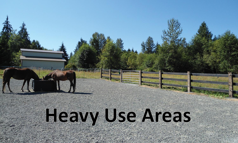 Heavy Use Areas