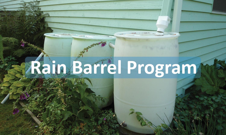 Rain Barrel Program Button