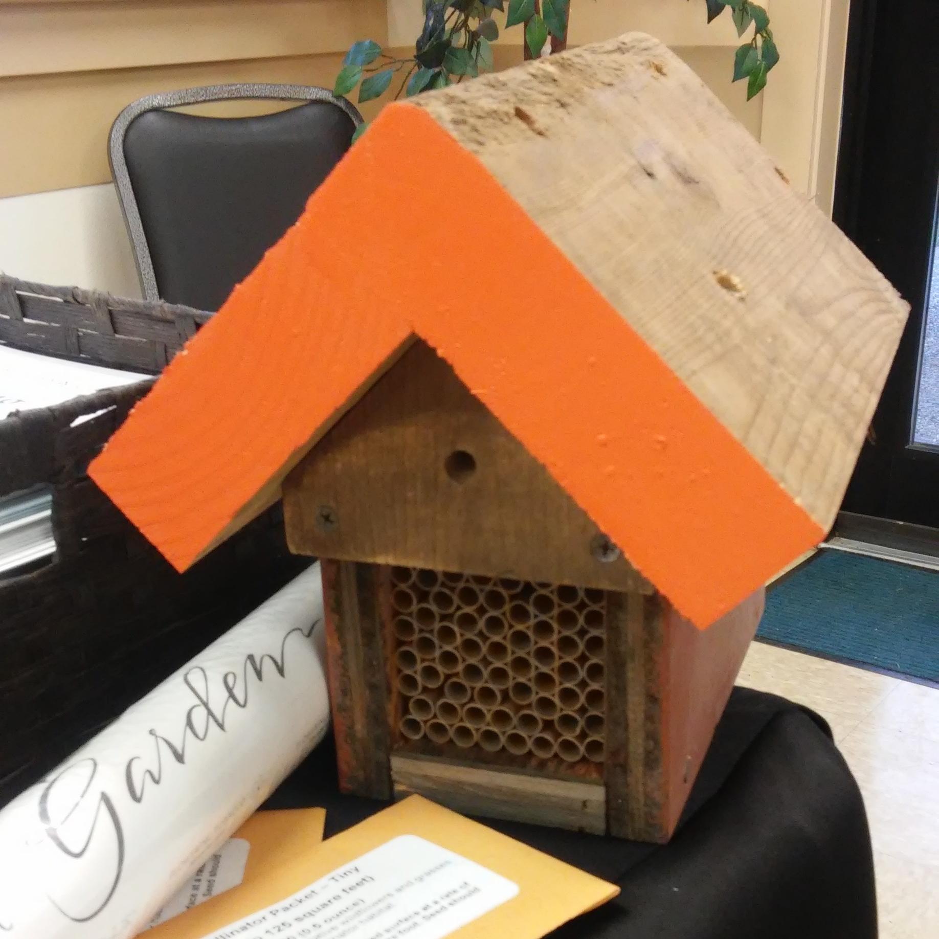 Photo of mason bee house