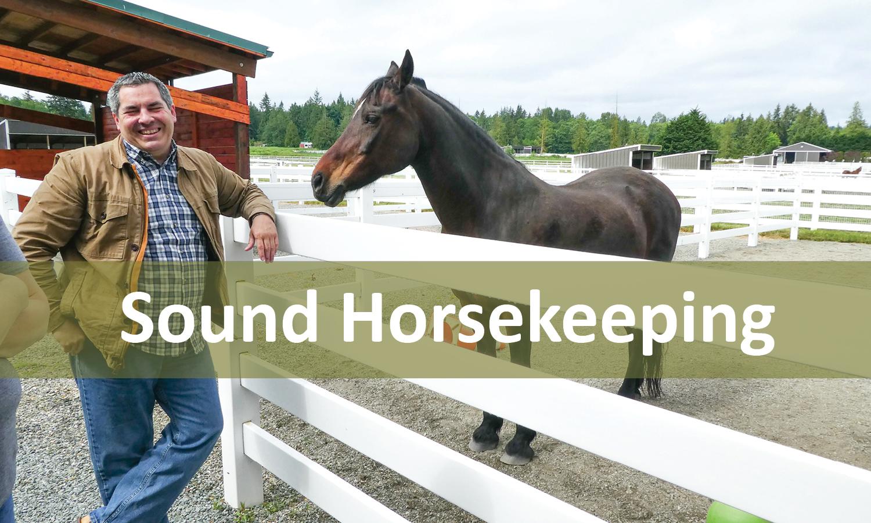 Sound Horsekeeping Program Button