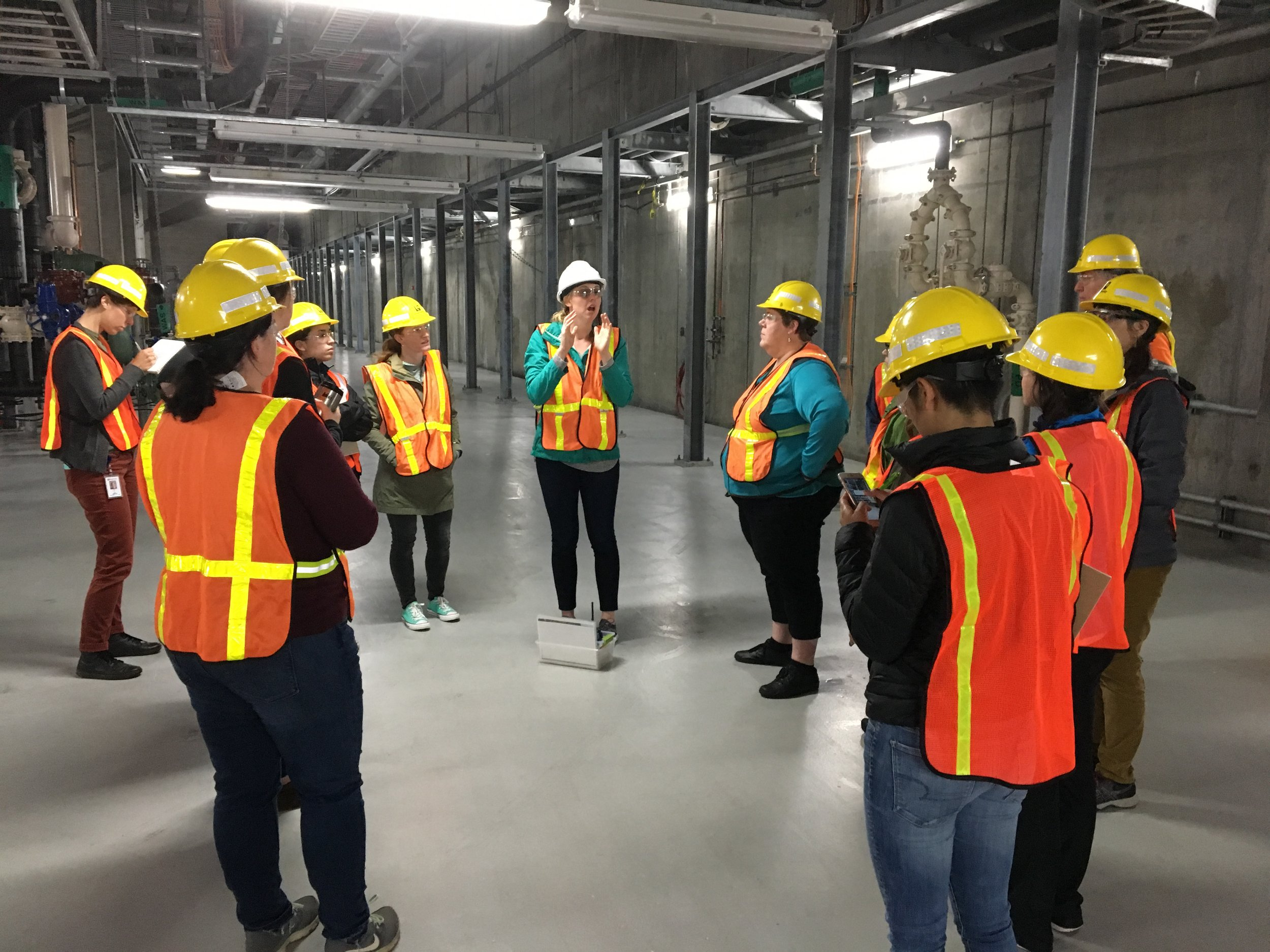 Touring the Brightwater Facility