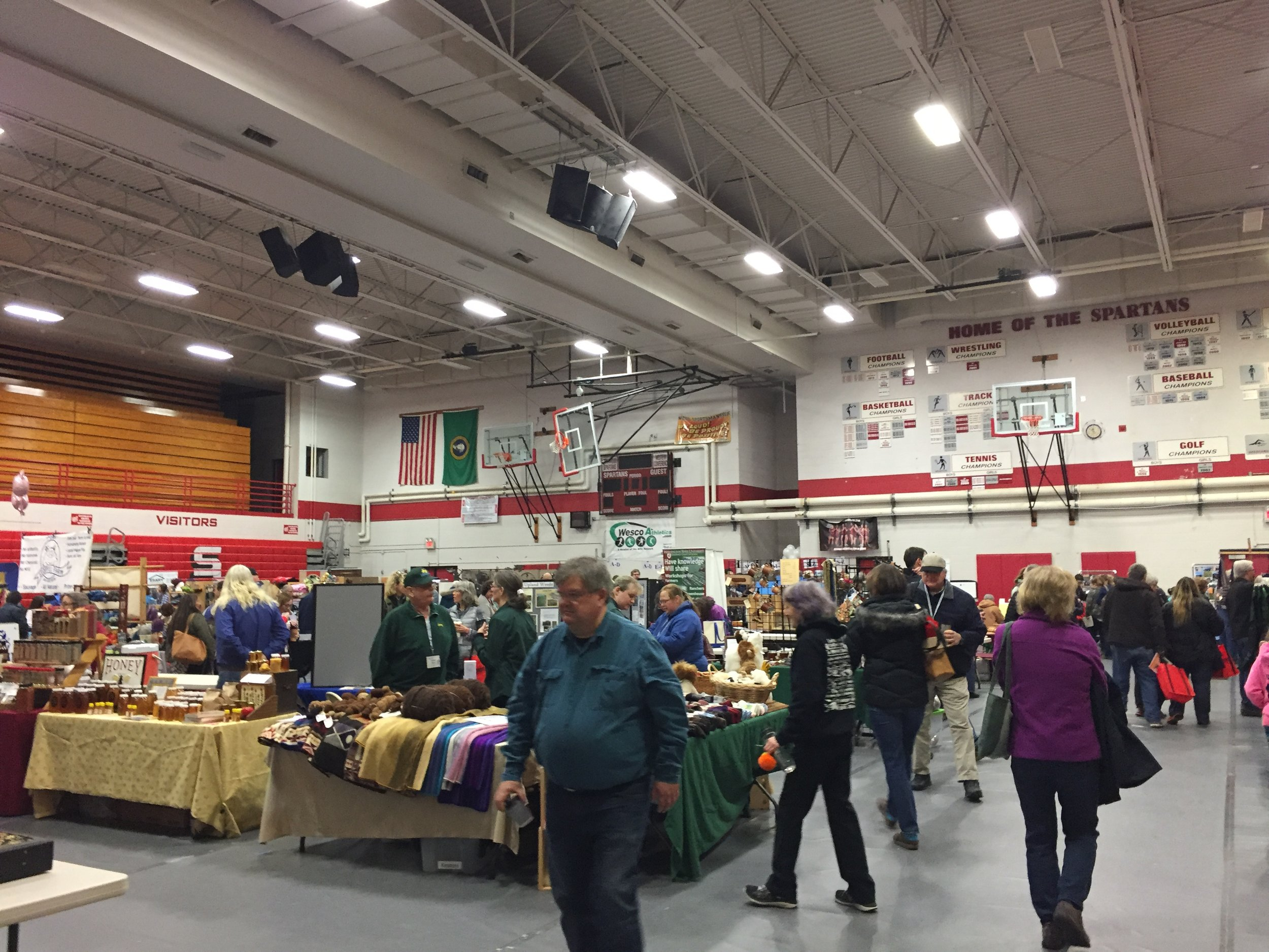 Trade Show at Stanwood High School