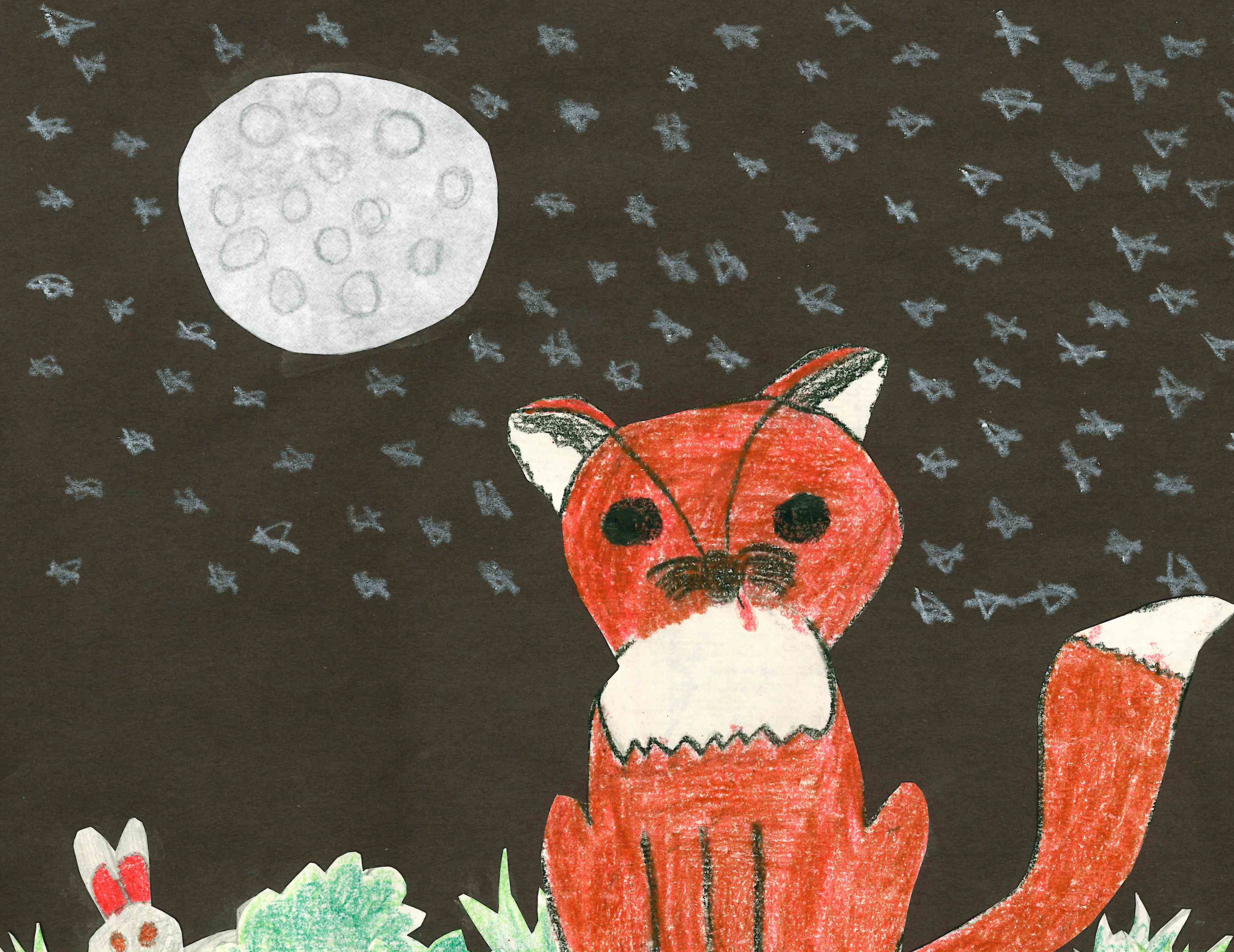 Starry Night by Stella Johnson - 3rd Place - Grades K-2