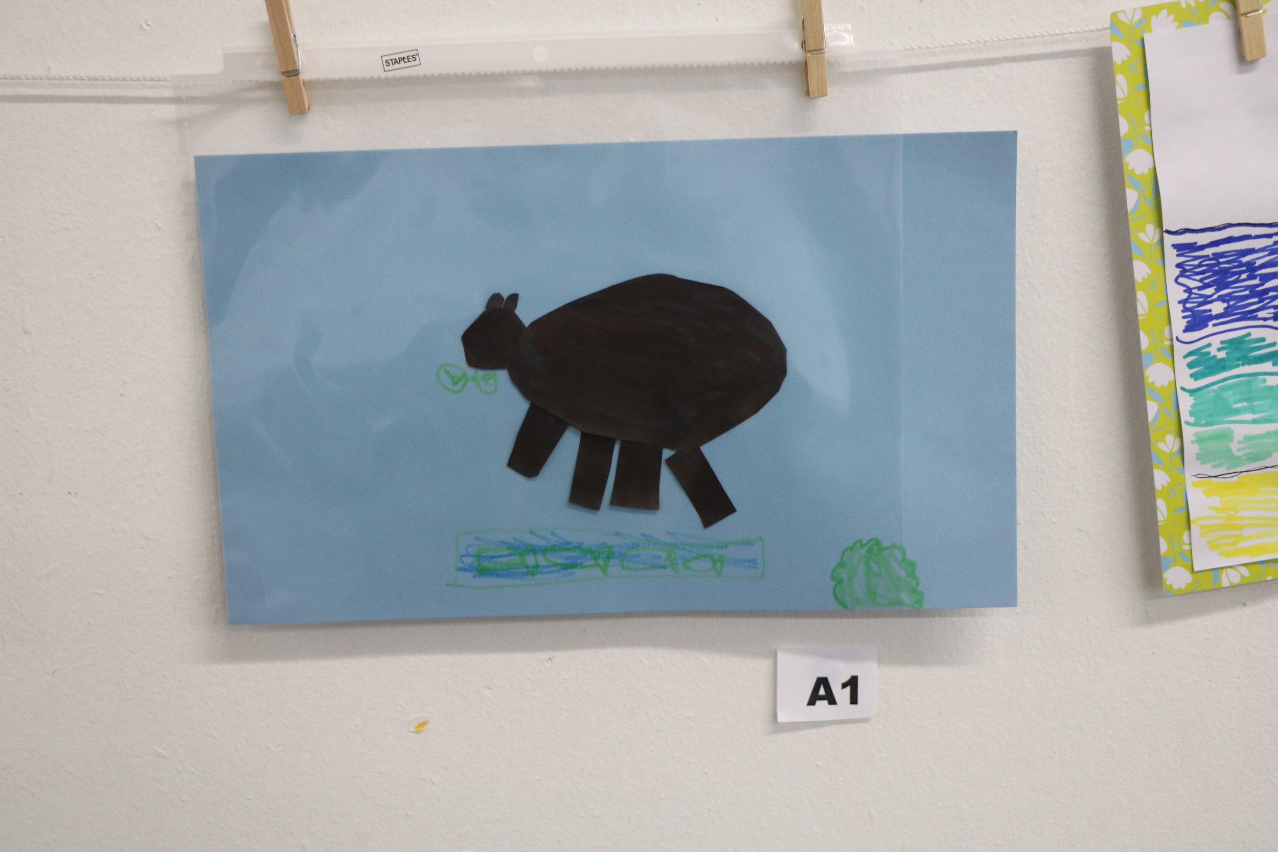 The Brown Bear by Brody Johnson - Honorable Mention (K-2 entry)