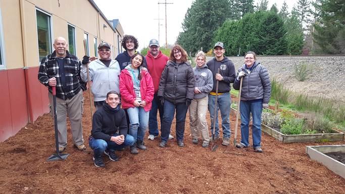 Community Garden at SeaMar in Marysville