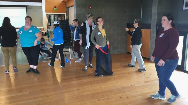 Workshop held at brightwater environmental Center in 2018