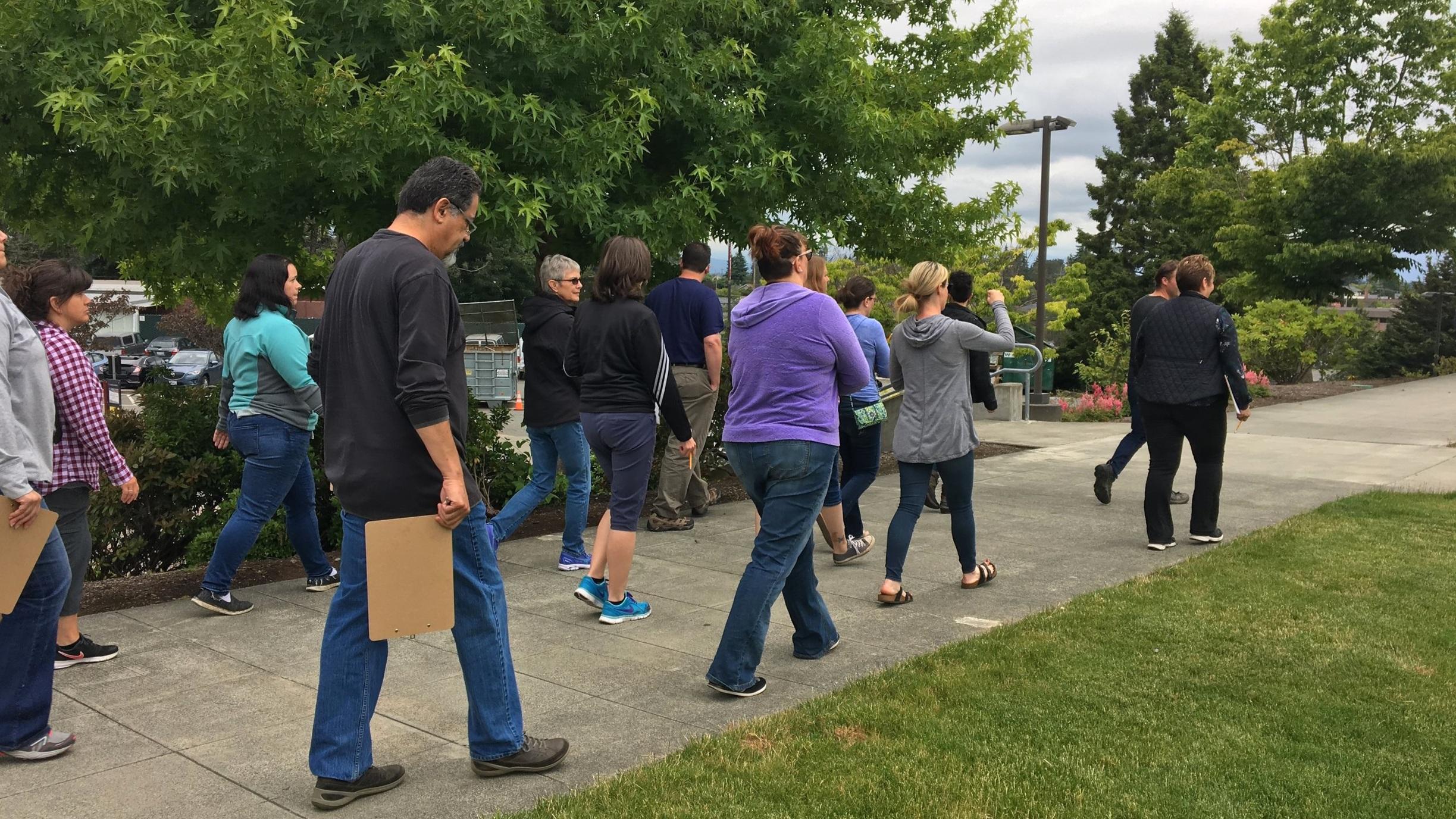 Green School Yard teacher workshop 2018