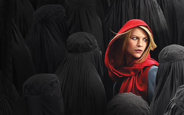 Claire Danes as Carrie Mathison in a promotional image for the fourth season ofHomeland.  Photo: courtesy Showtime.