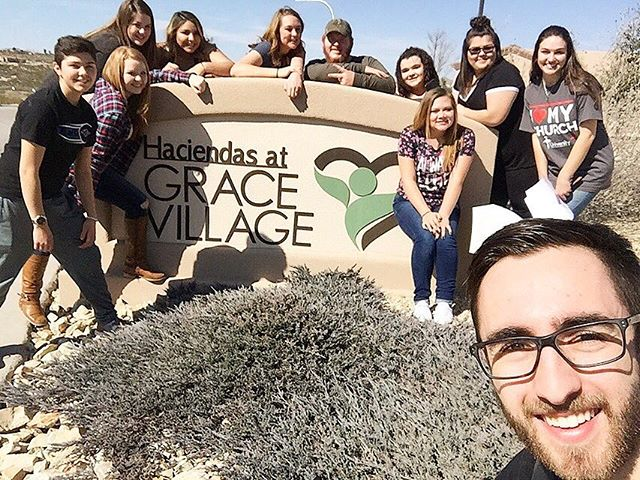 Our group had an amazing time this weekend at Fab 13! Here's a few of our kids at their service project! You guys truly blessed Las Cruces. Proud of you!❤️