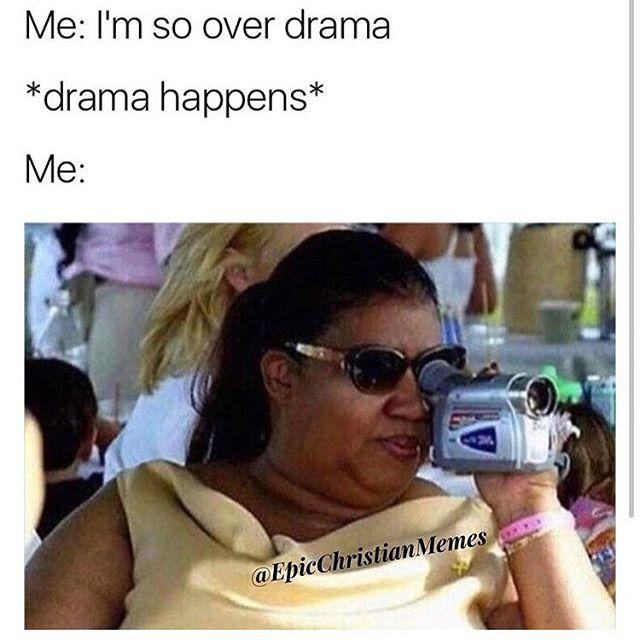 When we tried to do drama free 2015