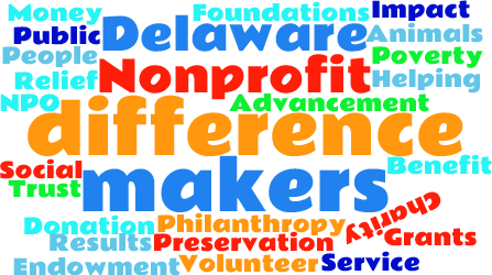 Nonprofit job postings and other nonprofit volunteer and board opportunities are posted on the  Delaware Difference Makers website here .