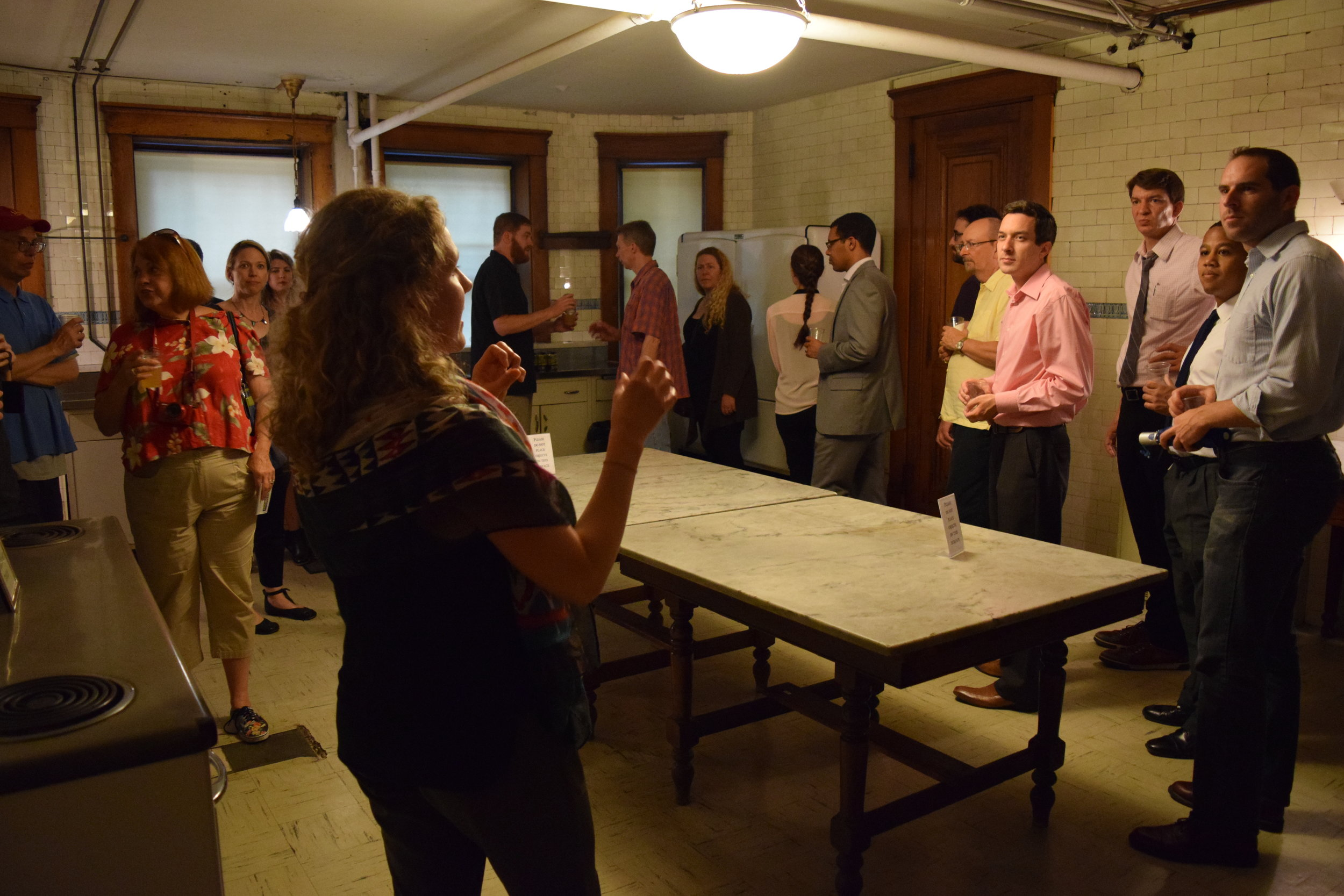 Volunteer - Do you have a passion for story-telling and enjoy working with people? Volunteers are essential to the Heurich House Museum's daily operations. Serve as a tour guide, assist with public programs, or help in our garden. Our volunteers enjoy professional development opportunities, discounts on special events, behind-the-scenes tours, and reciprocal museum entrance.