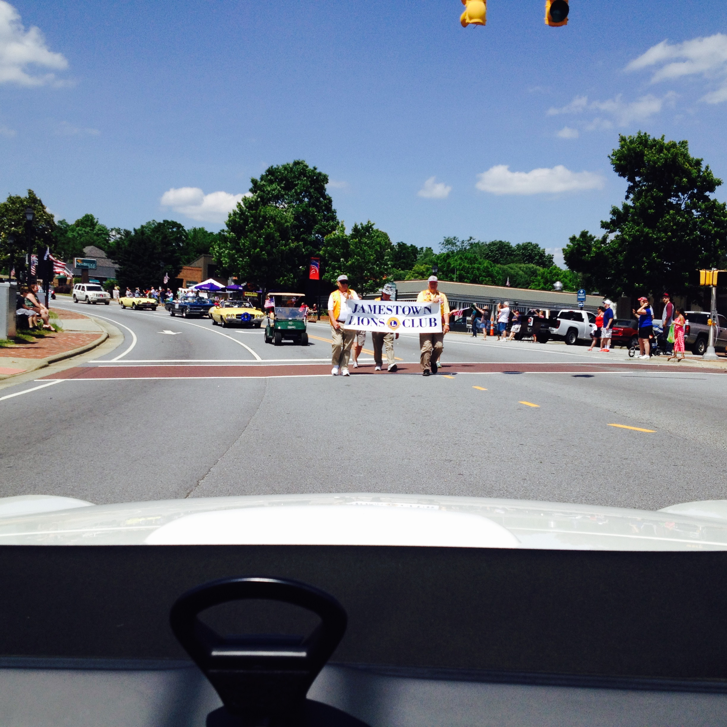 At the Jamestown, N.C. Memorial Day Parade 2015