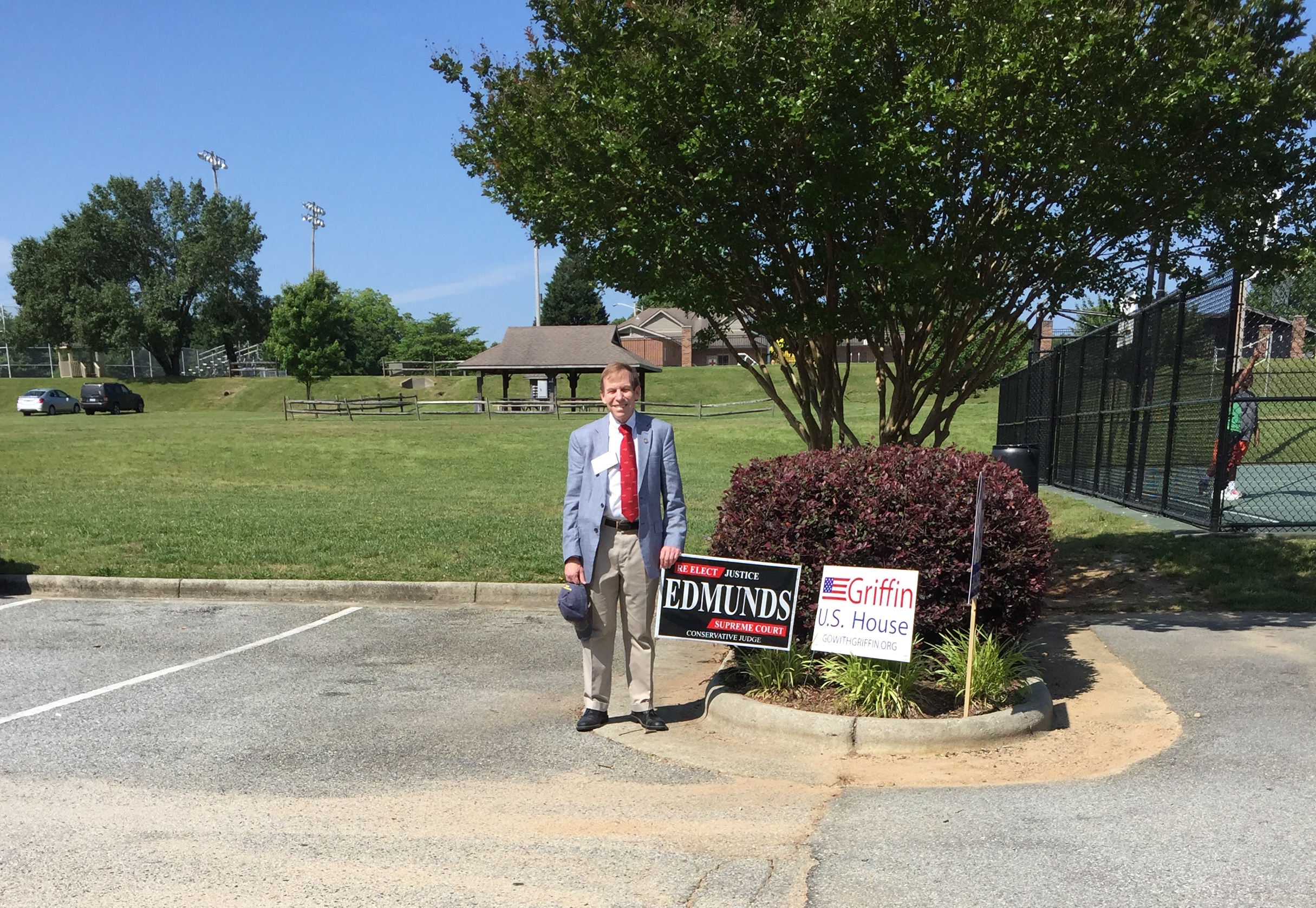 At early voting site in High Point, May 28, 2016.