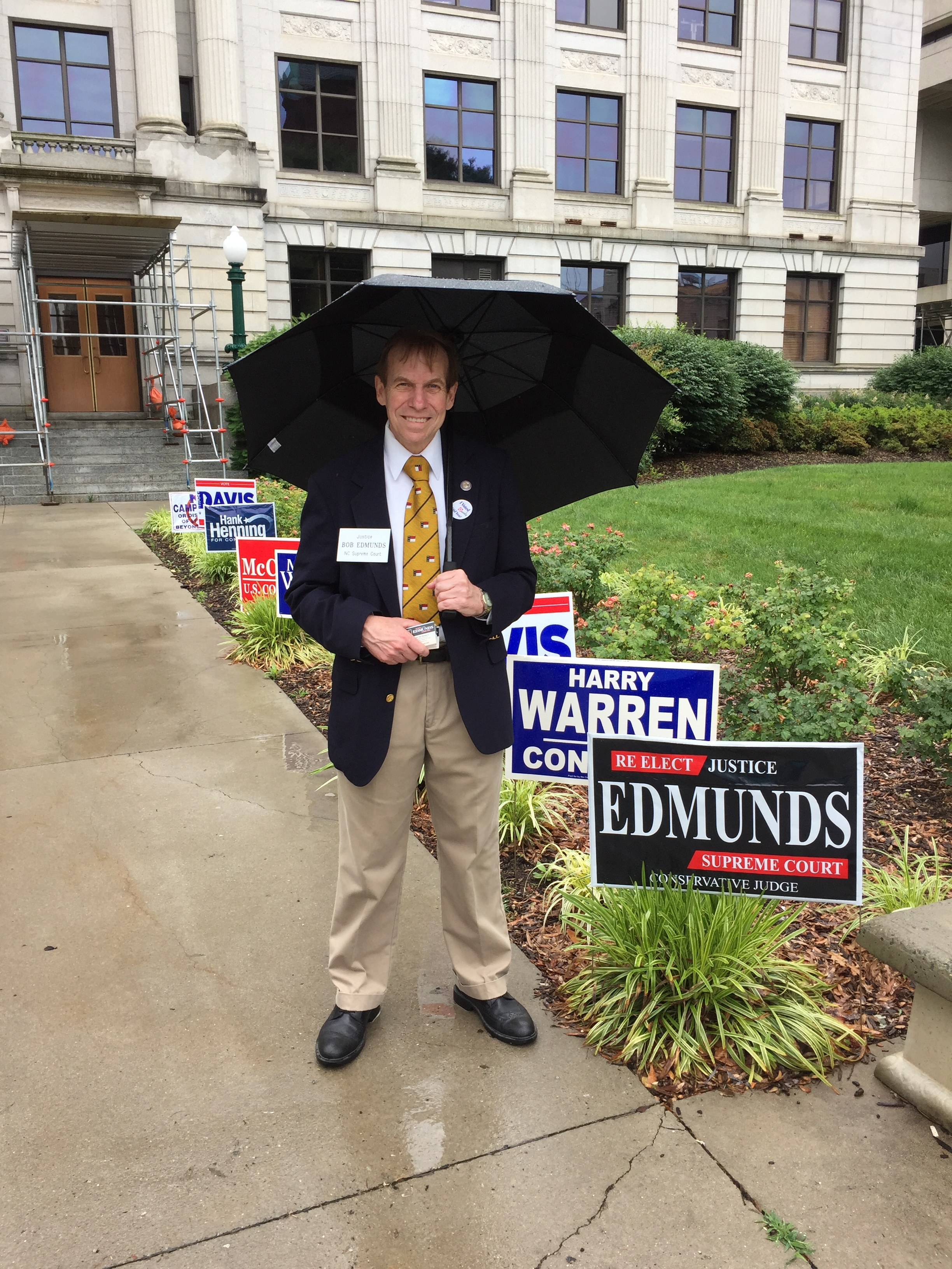 Early voting on a rainy Sunday in Guilford County, May 29, 2016.