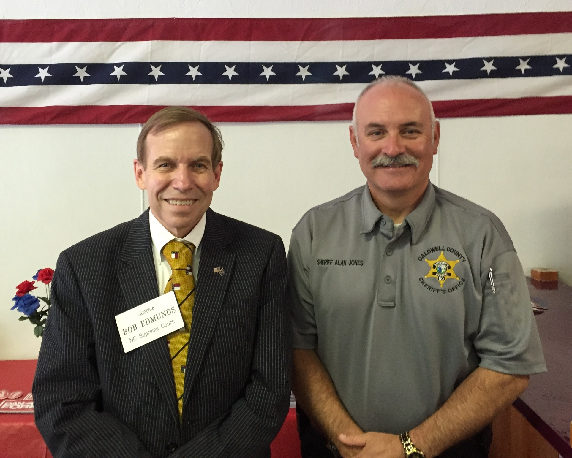 Sheriff Alan Jones, Caldwell County.