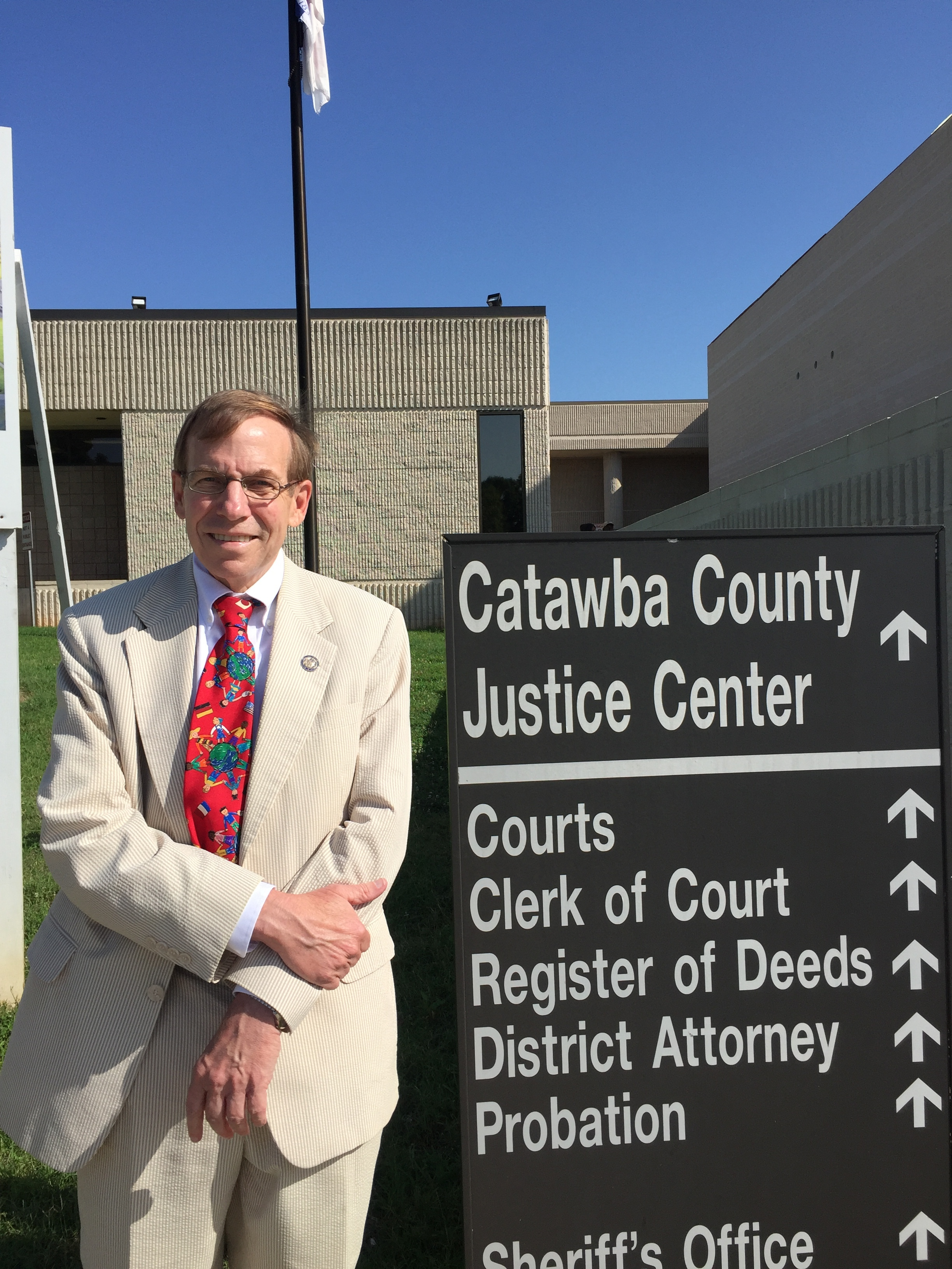 Visiting Catawba County, July 14, 2016.