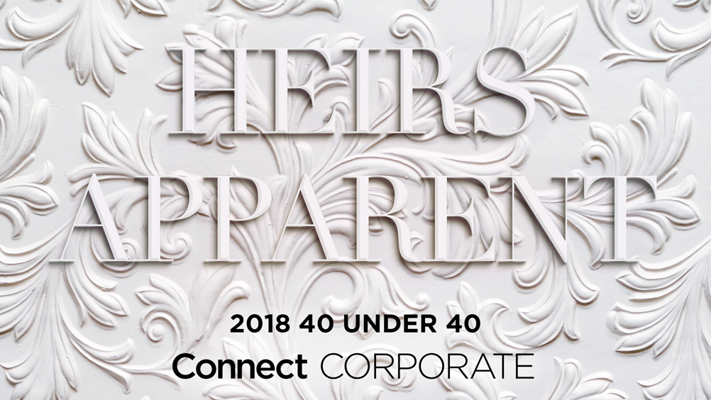 2018 40 Under 40 by Connect Corporate