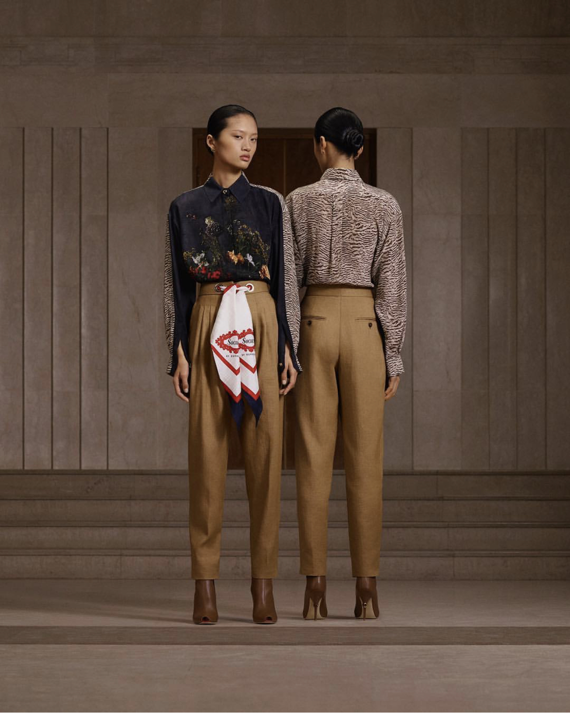 Yilan Hua shot by Trinity Ellis for Burberry