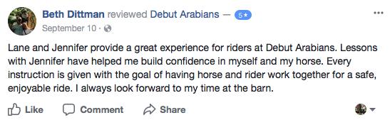 Arabian Horse Stable