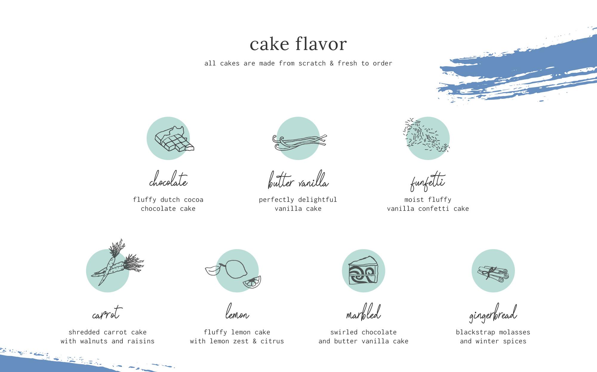 Cake Life Cake Flavor