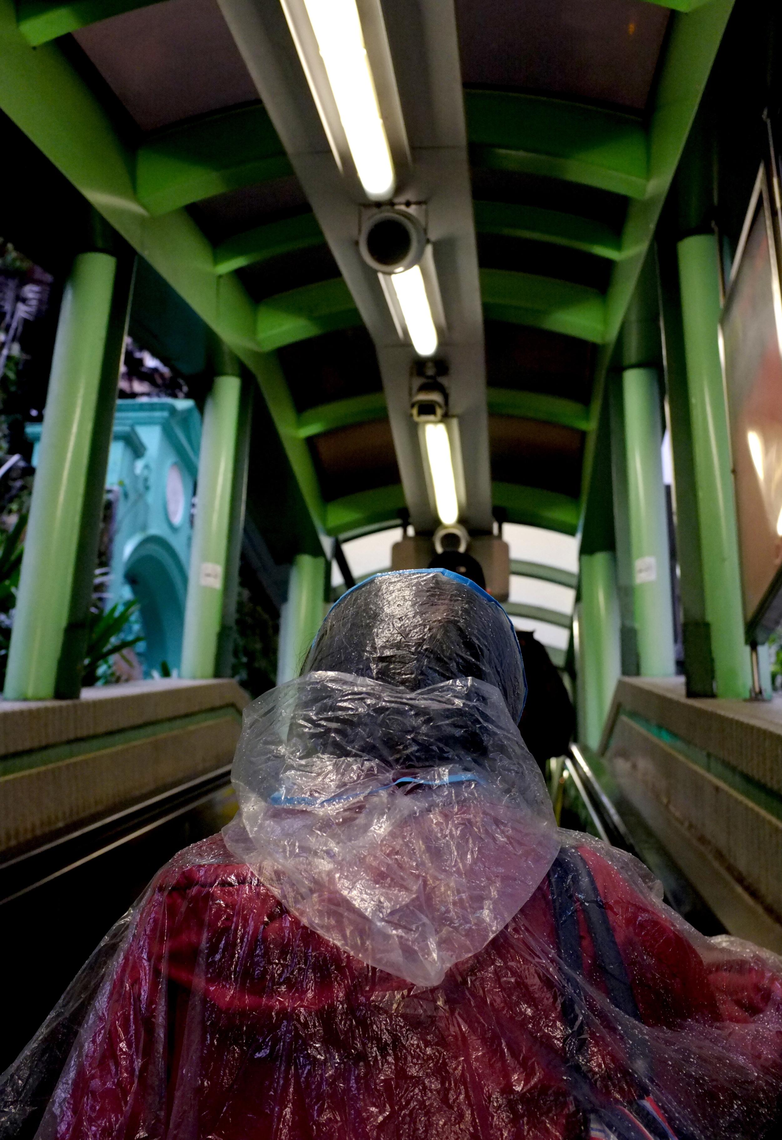 Journey up the Mid-Levels Escalator
