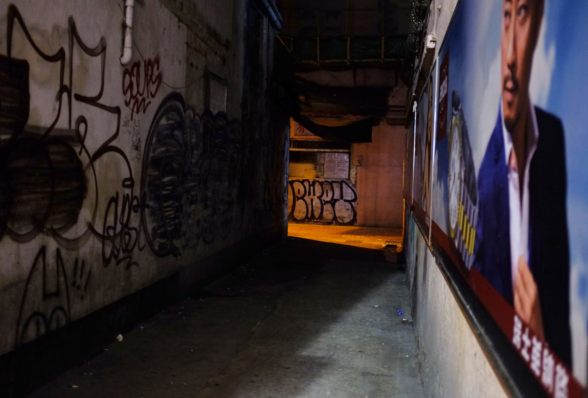 Alley in Causeway Bay