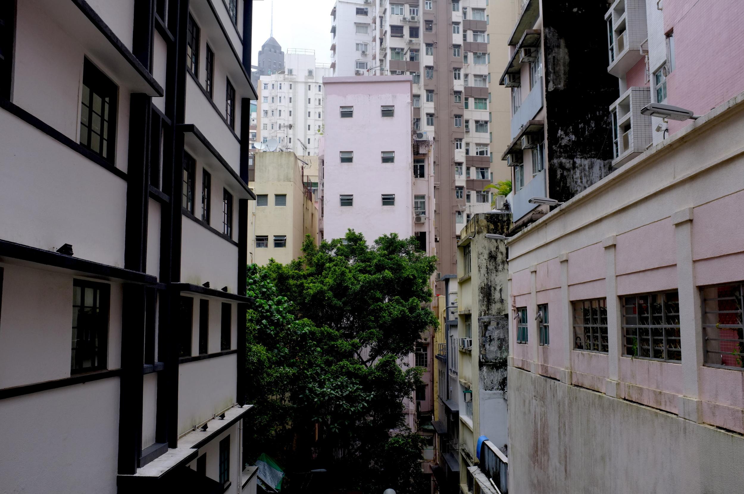 Apartment buildings in Wan Chai