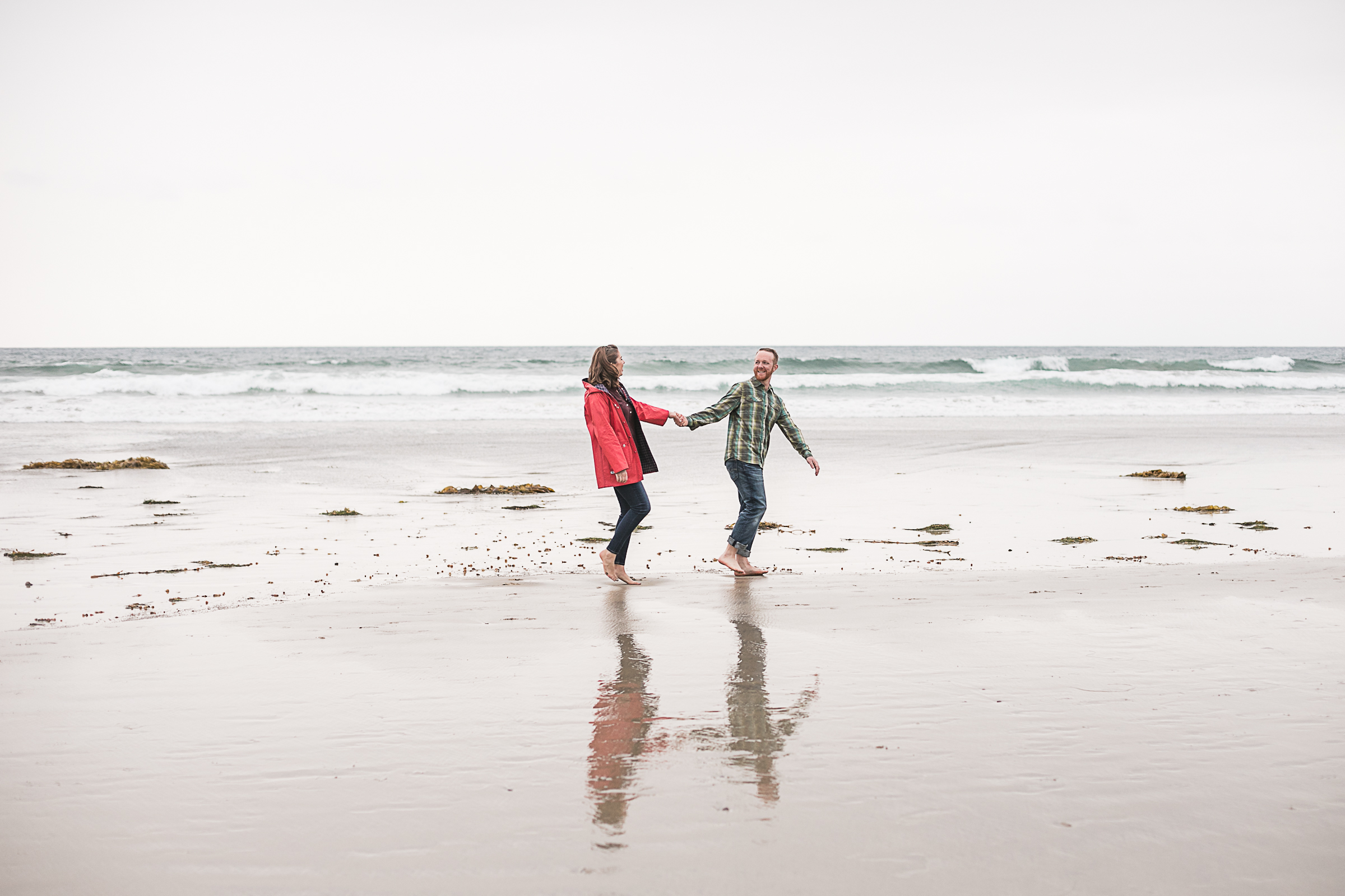 Sarah and Matt's Torrey Pines Gliderport and Scripps Pier Engagement Session 2018-15.jpg