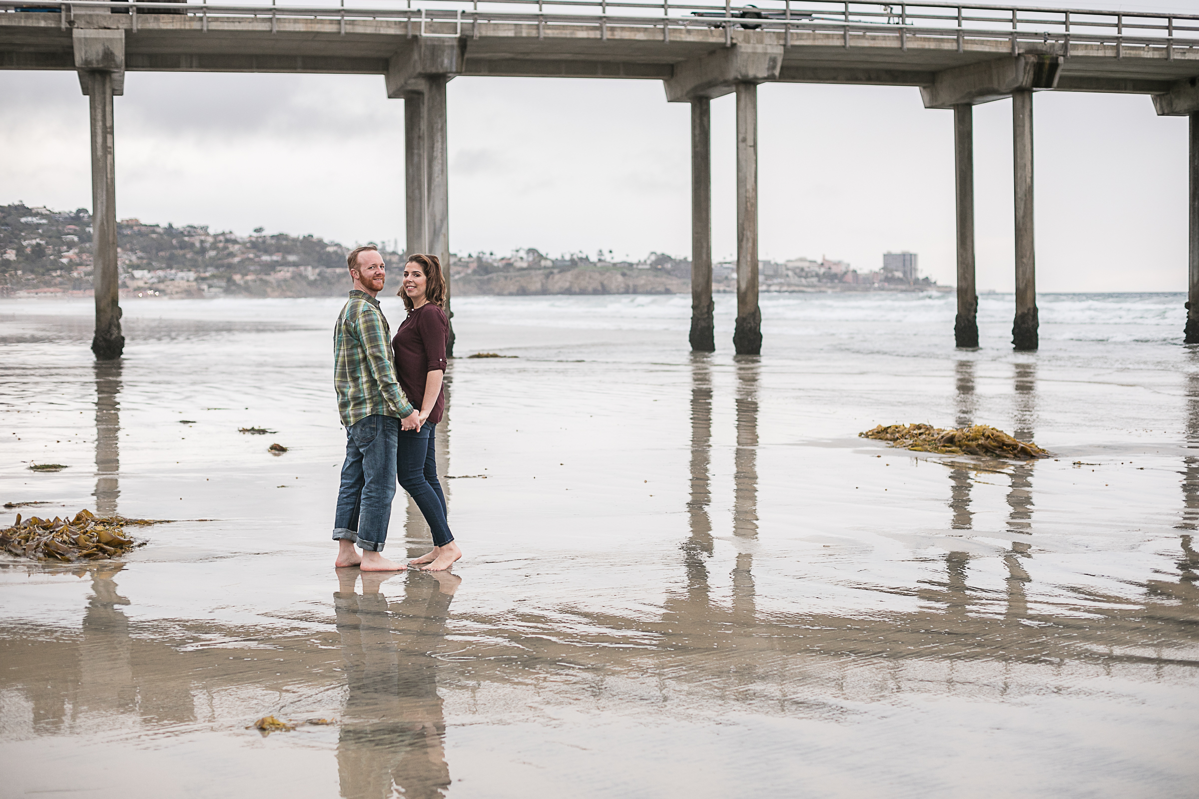 Sarah and Matt's Torrey Pines Gliderport and Scripps Pier Engagement Session 2018-18.jpg