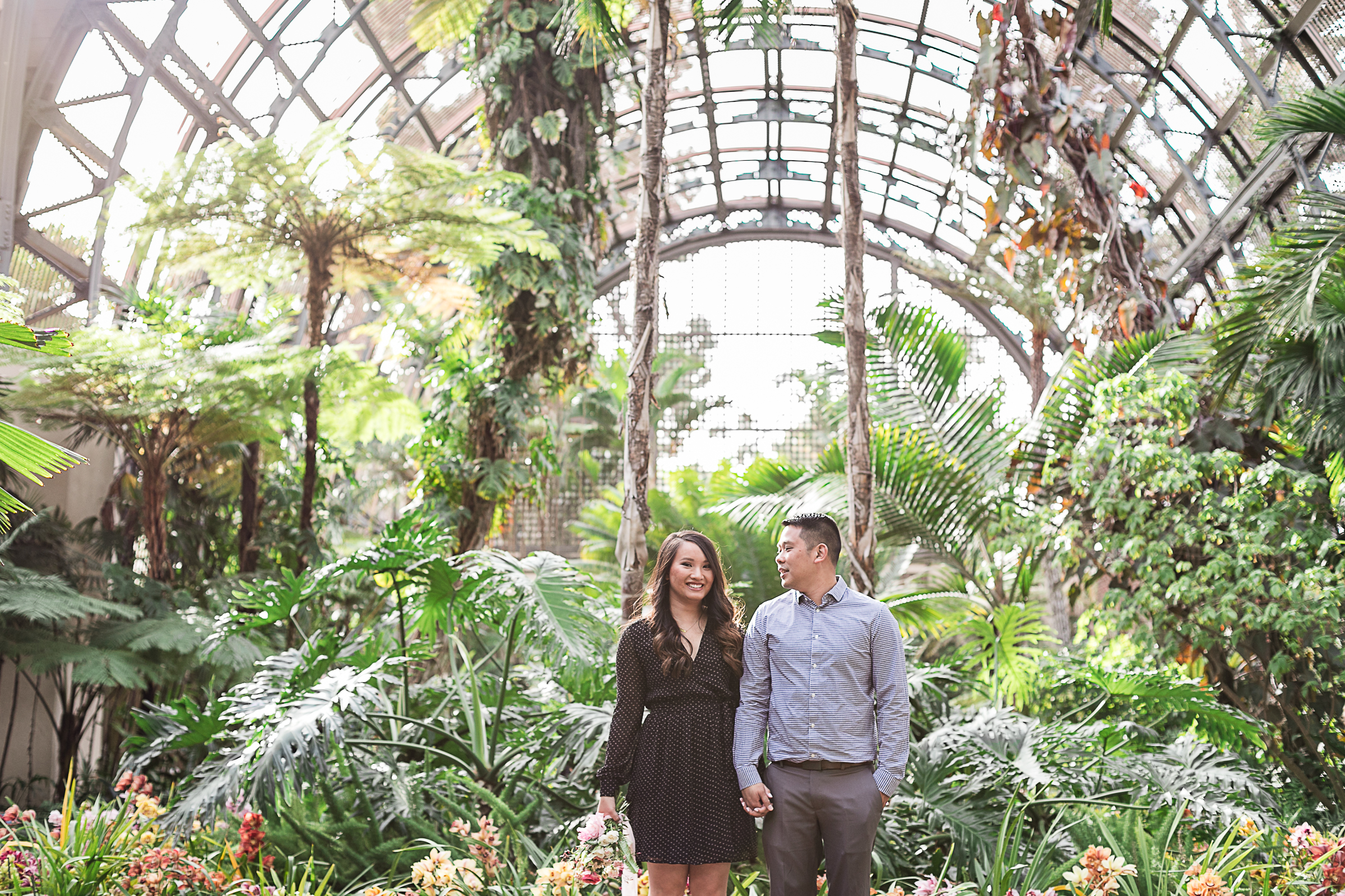 Tiffany and Erick's Balboa Park and Coronado Engagement Session-7.jpg
