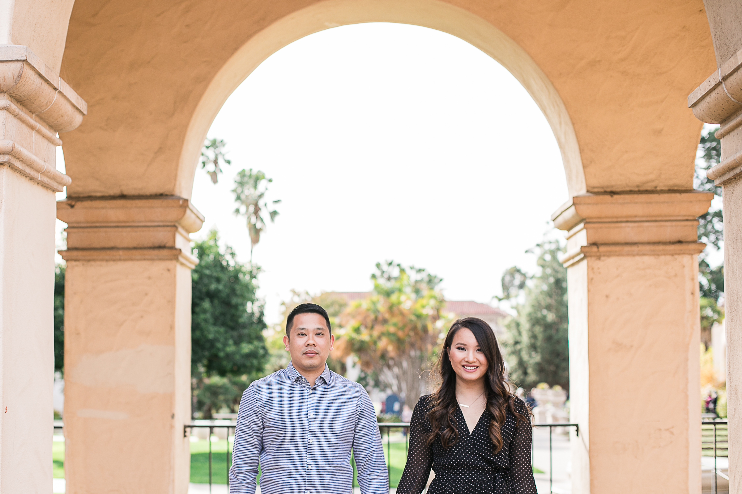 Tiffany and Erick's Balboa Park and Coronado Engagement Session-9.jpg