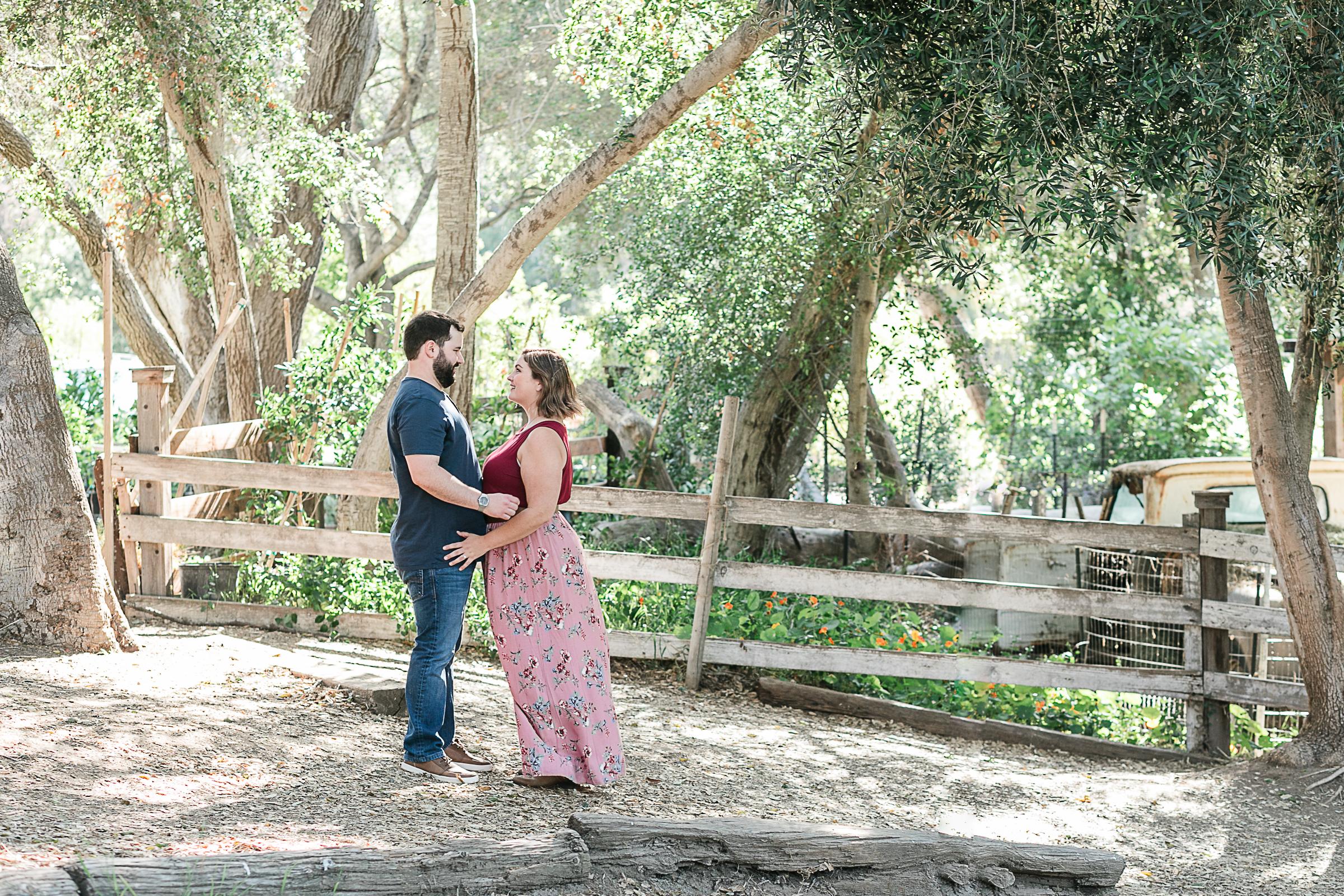 Kathryn and Dustins Myrtle Creek Botanical Gardens Fallbrook Engagement Session-12.jpg