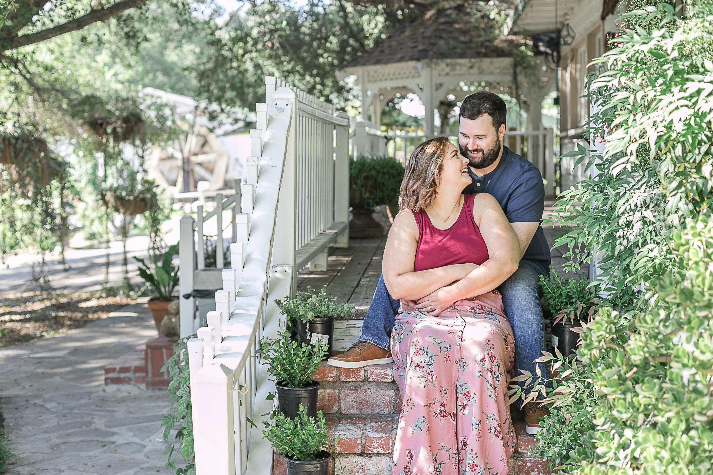 Kathryn and Dustins Myrtle Creek Botanical Gardens Fallbrook Engagement Session-5.jpg