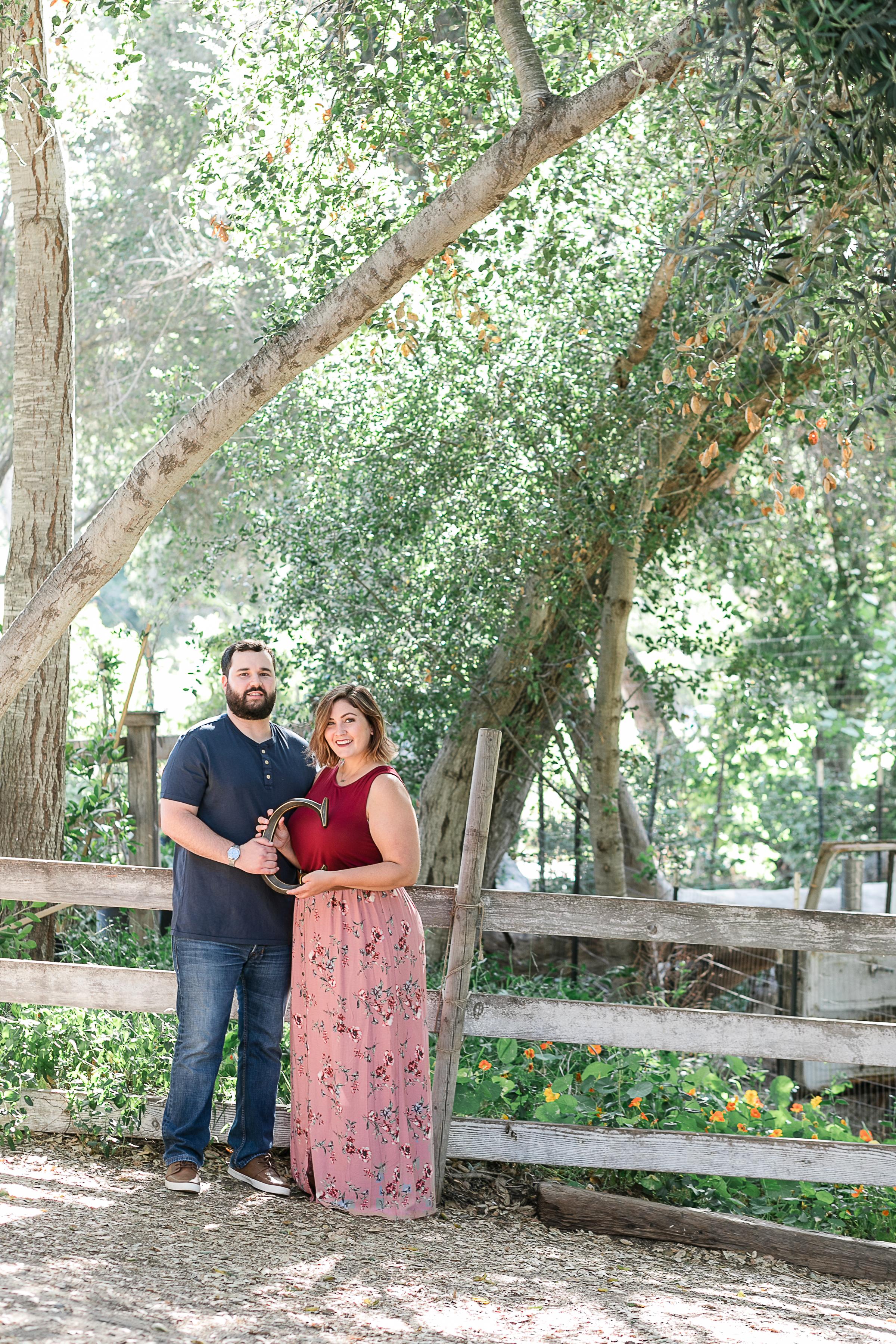 Kathryn and Dustins Myrtle Creek Botanical Gardens Fallbrook Engagement Session-14.jpg