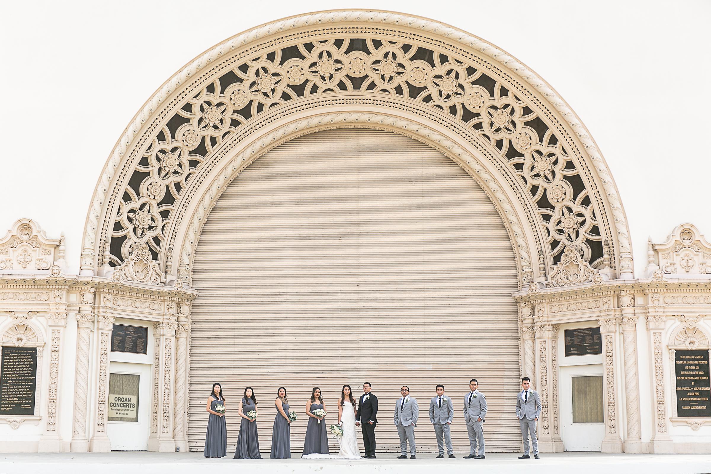 Tiffany and Erick's St Joseph's Cathedral Balboa Park Coronado Community Center Wedding-20.jpg