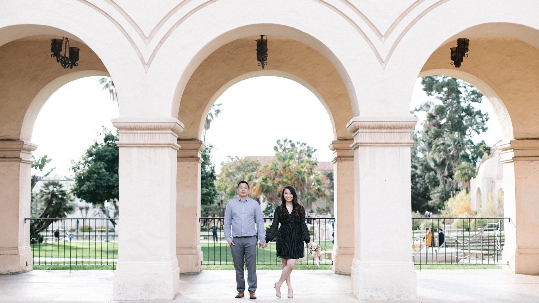 Tiffany and Erick's Balboa Park and Coronado Engagement Session Great Woodland Photography-19.jpg