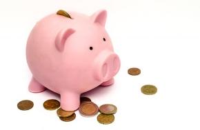 Piggy Bank HSA Saving Pennies