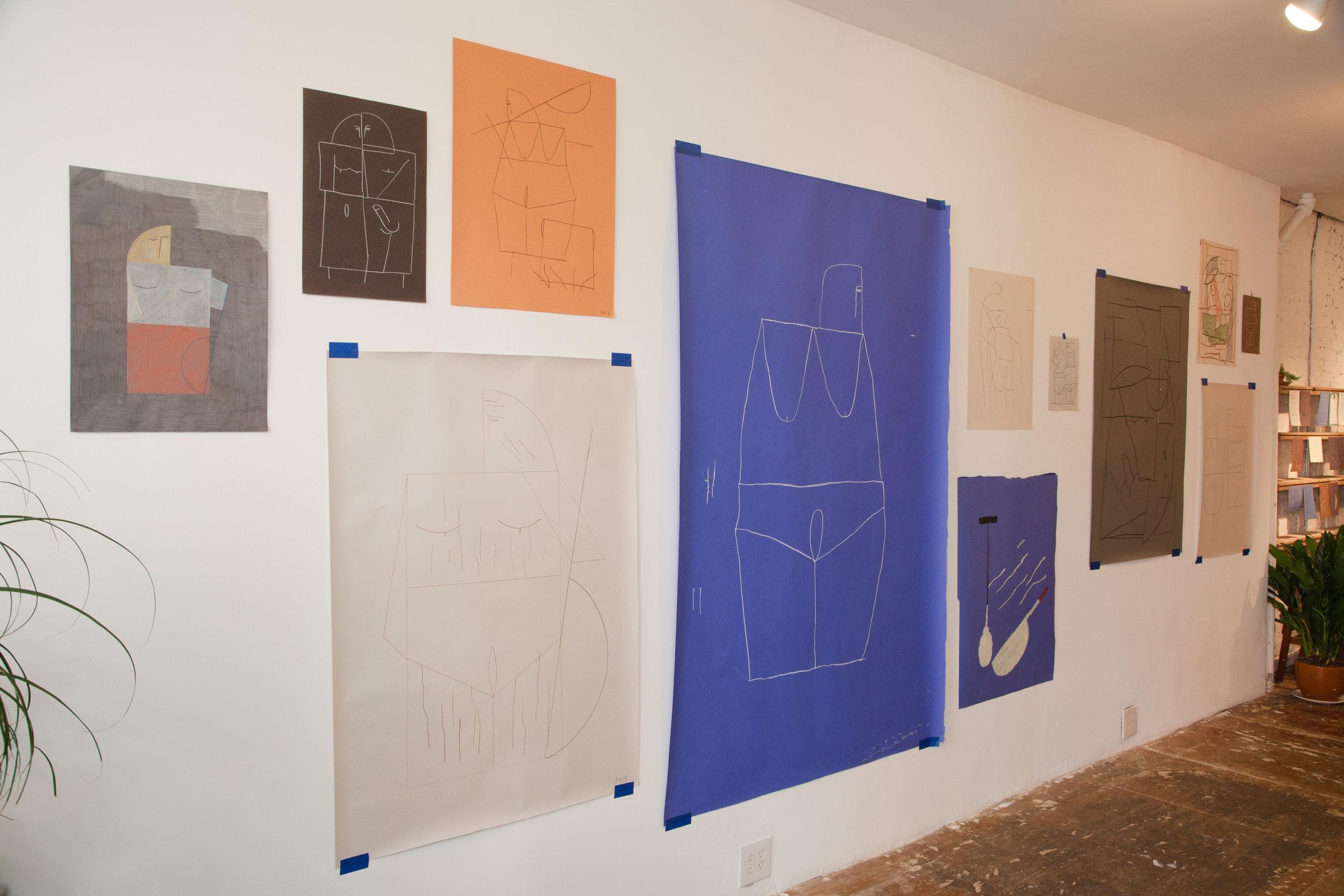 Ed. Varie, 9th Street East Village location, Ana Kras exhibition, Photo courtesy of Ed. Varie