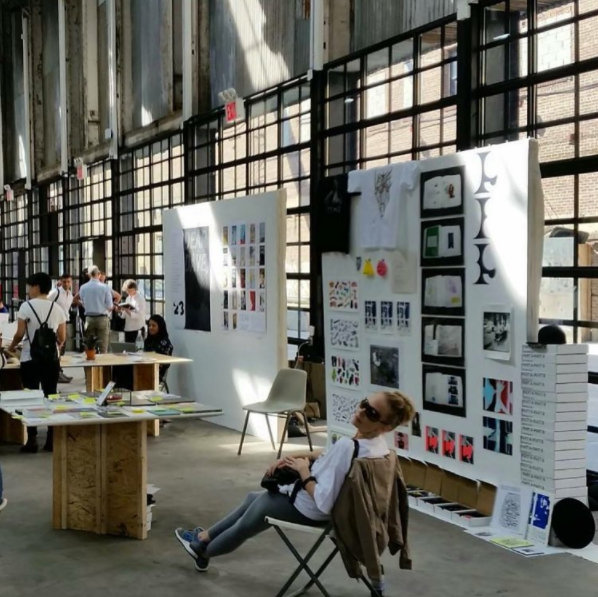 Black Ball Projects at the Independent Art Book Fair