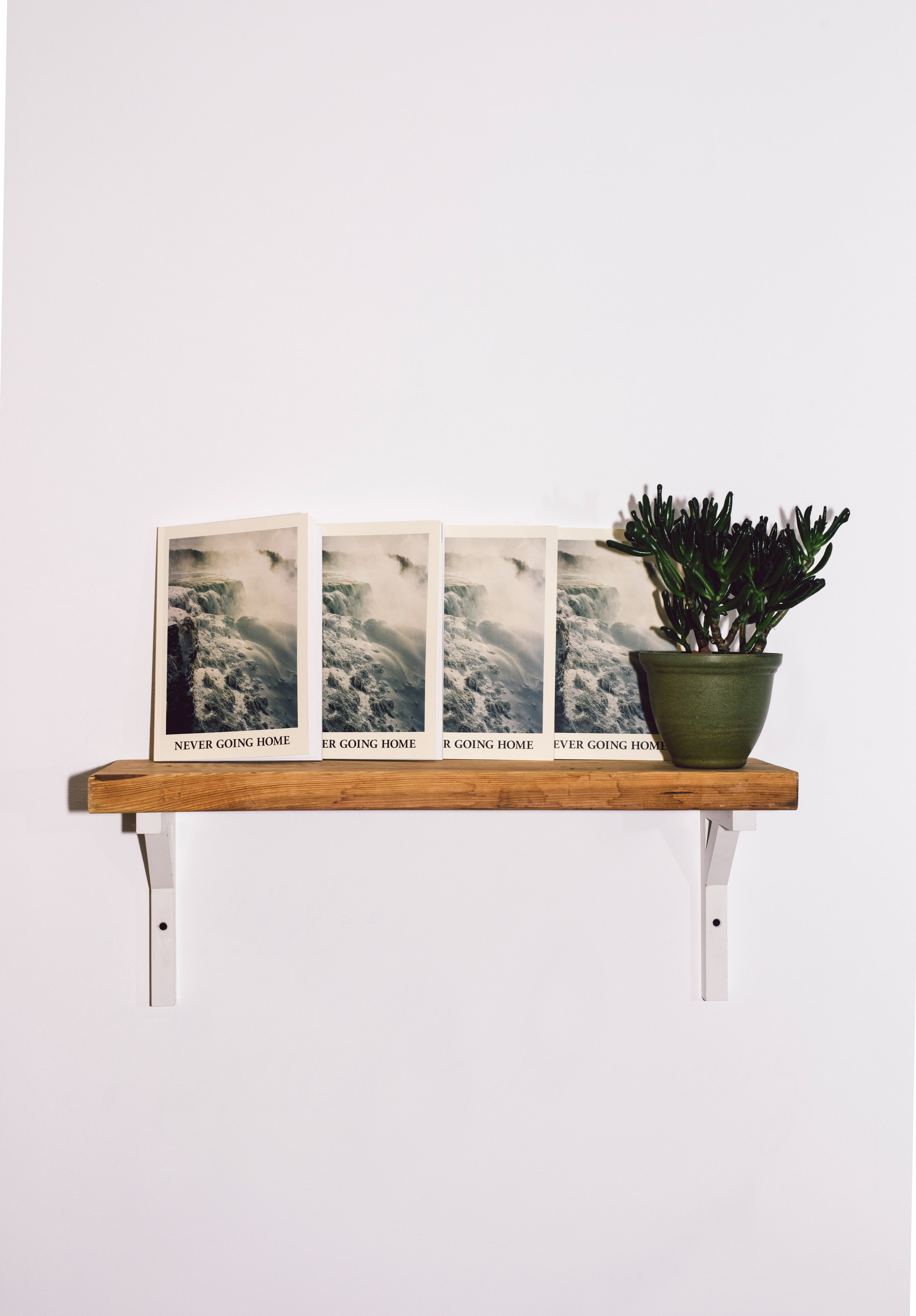 Ed. Varie Editions, Never Going Home, with editors Katie McCurdy, Kathy Lo, photo courtesy of Katie McCurdy