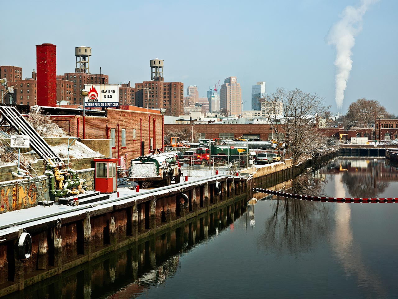 At the End of Gowanus Canal , Brooklyn, NY, 2009