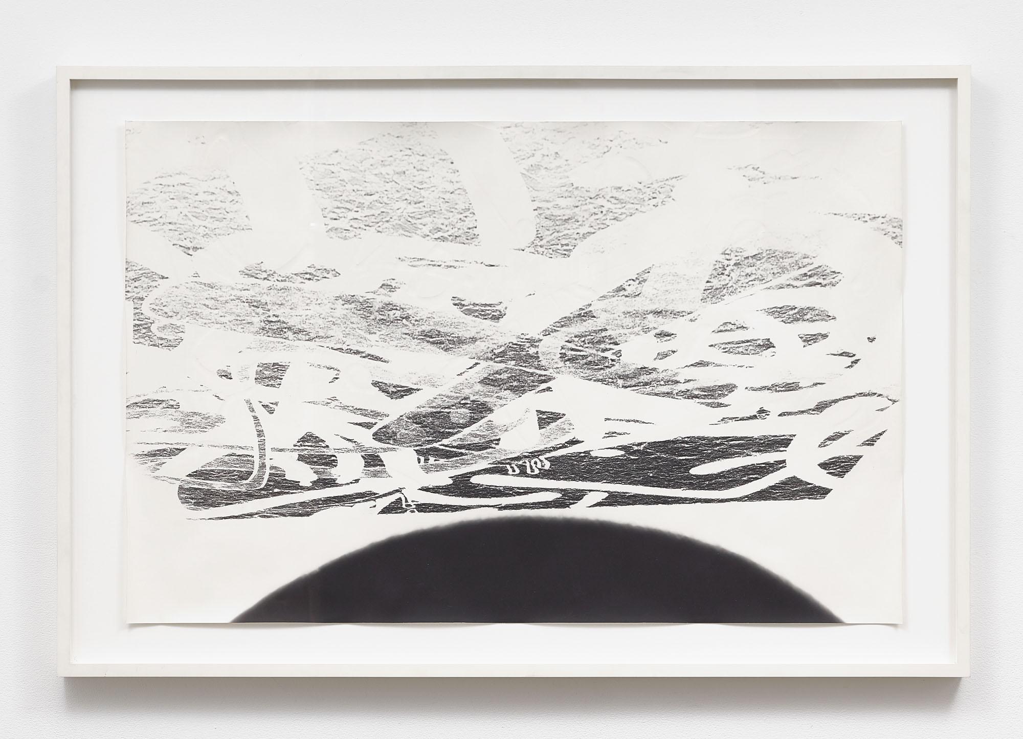 Steve Pauley, (Untitled) Bergen Street X-Out Embossment, 2014