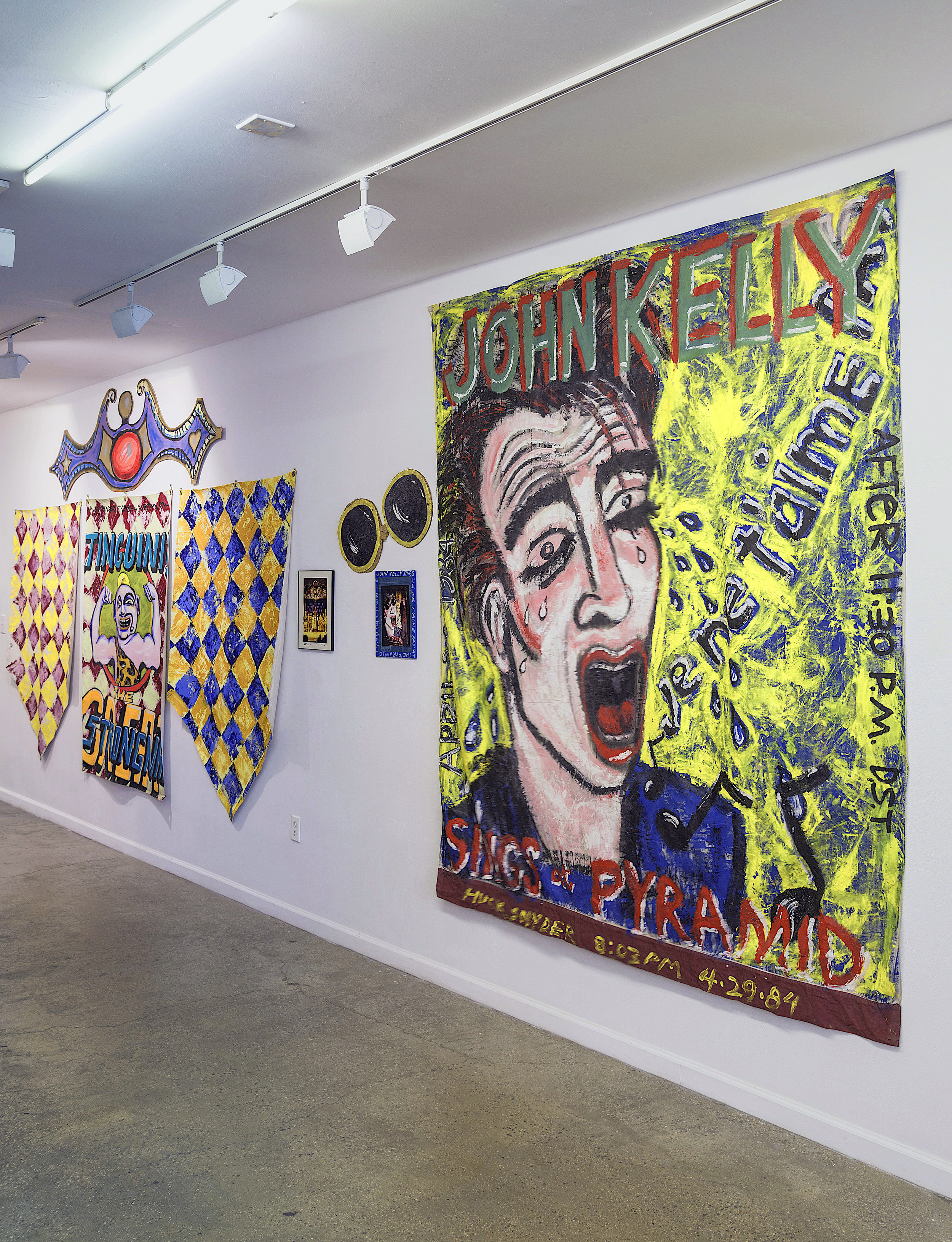 "Installation View of ""Huck Snyder: 1984"""