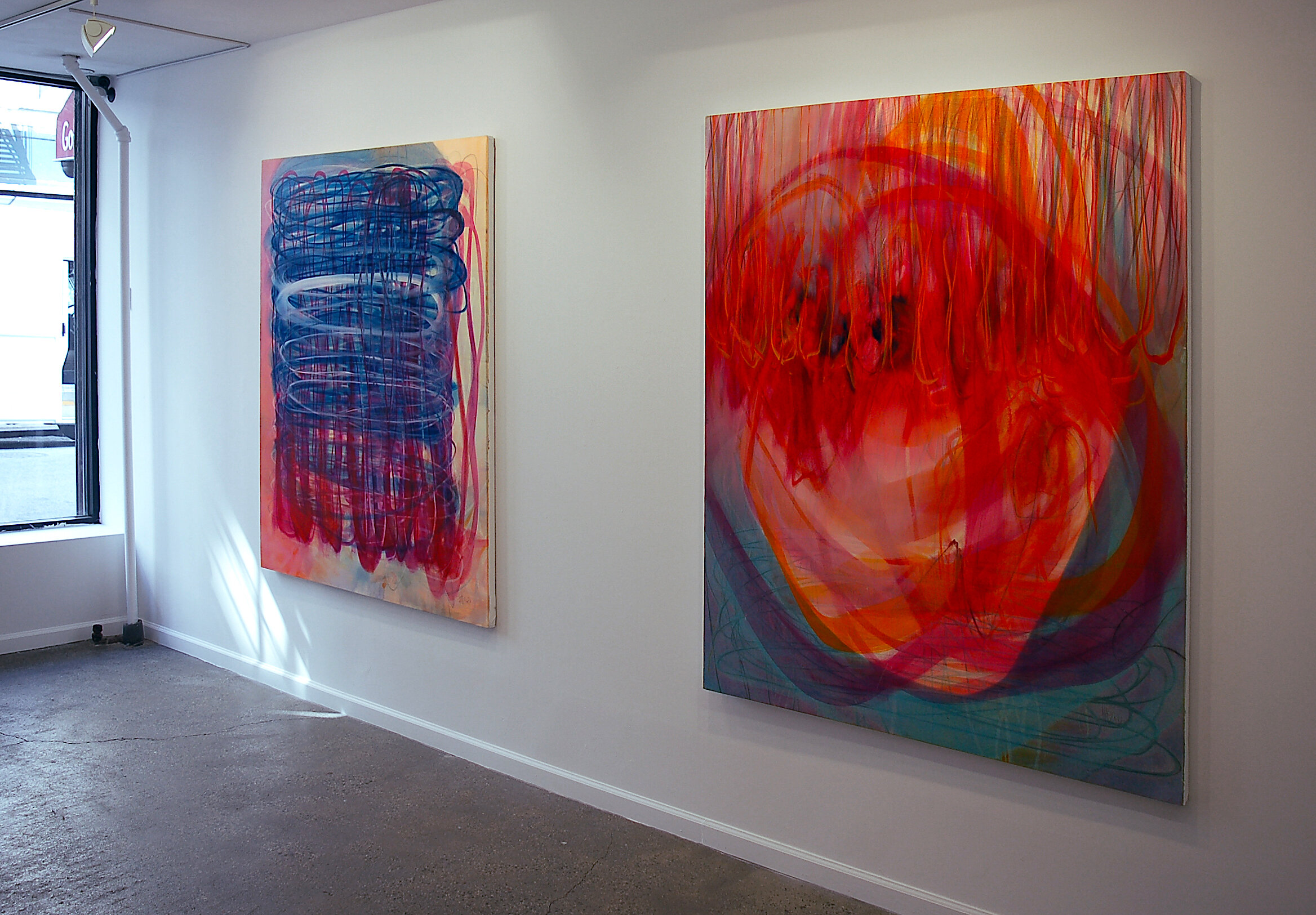 Installation shot of Henning Haupt, Body Ritual: Freedom and Form