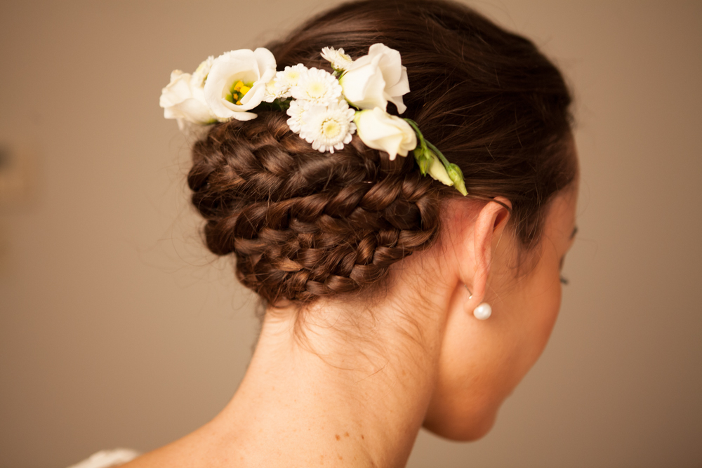 Braid with flowers 2