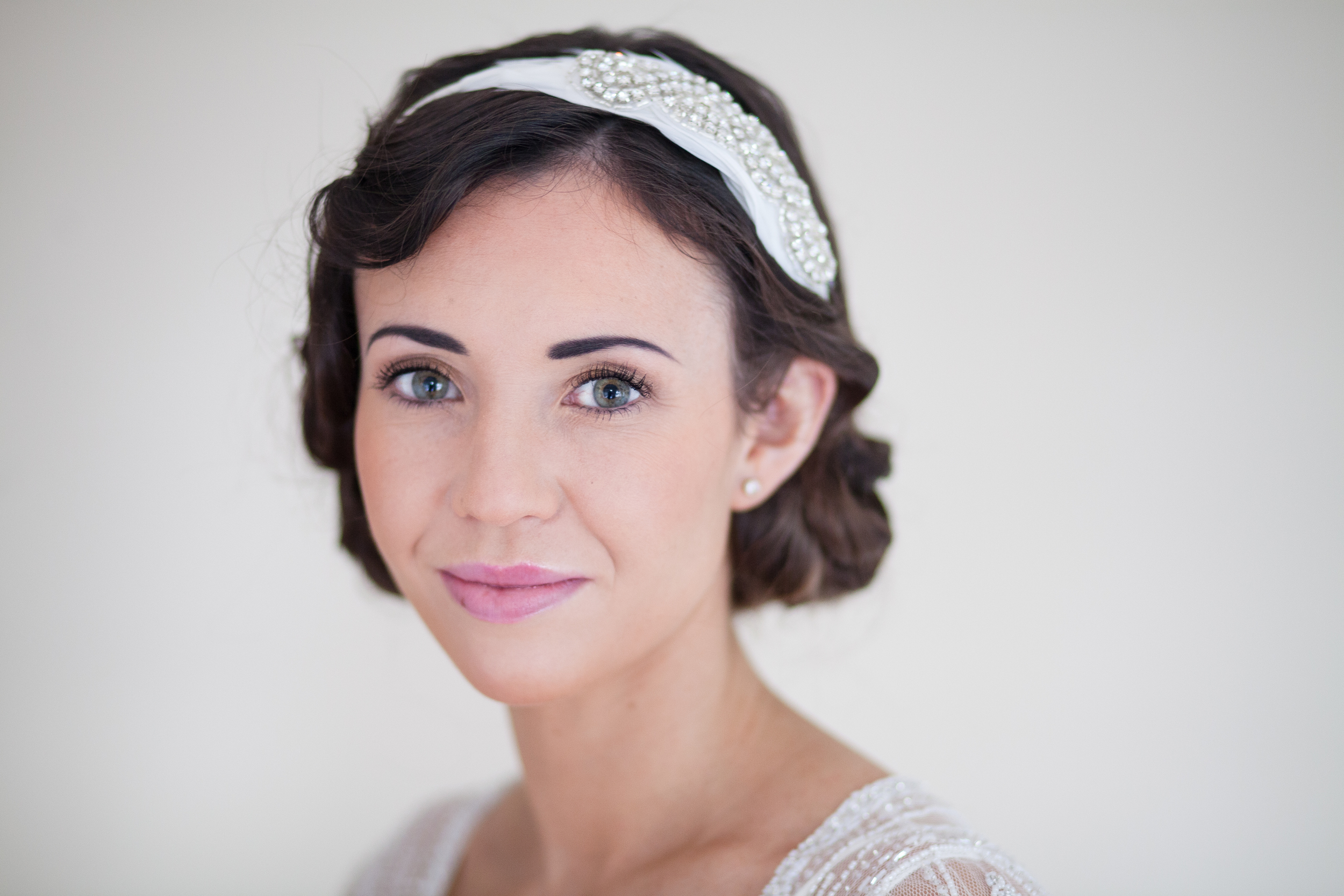 1920's Faux Bob with Finger Waves and Headpiece 3