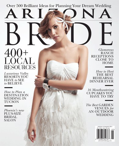 Featured in Arizona Bride Magazine