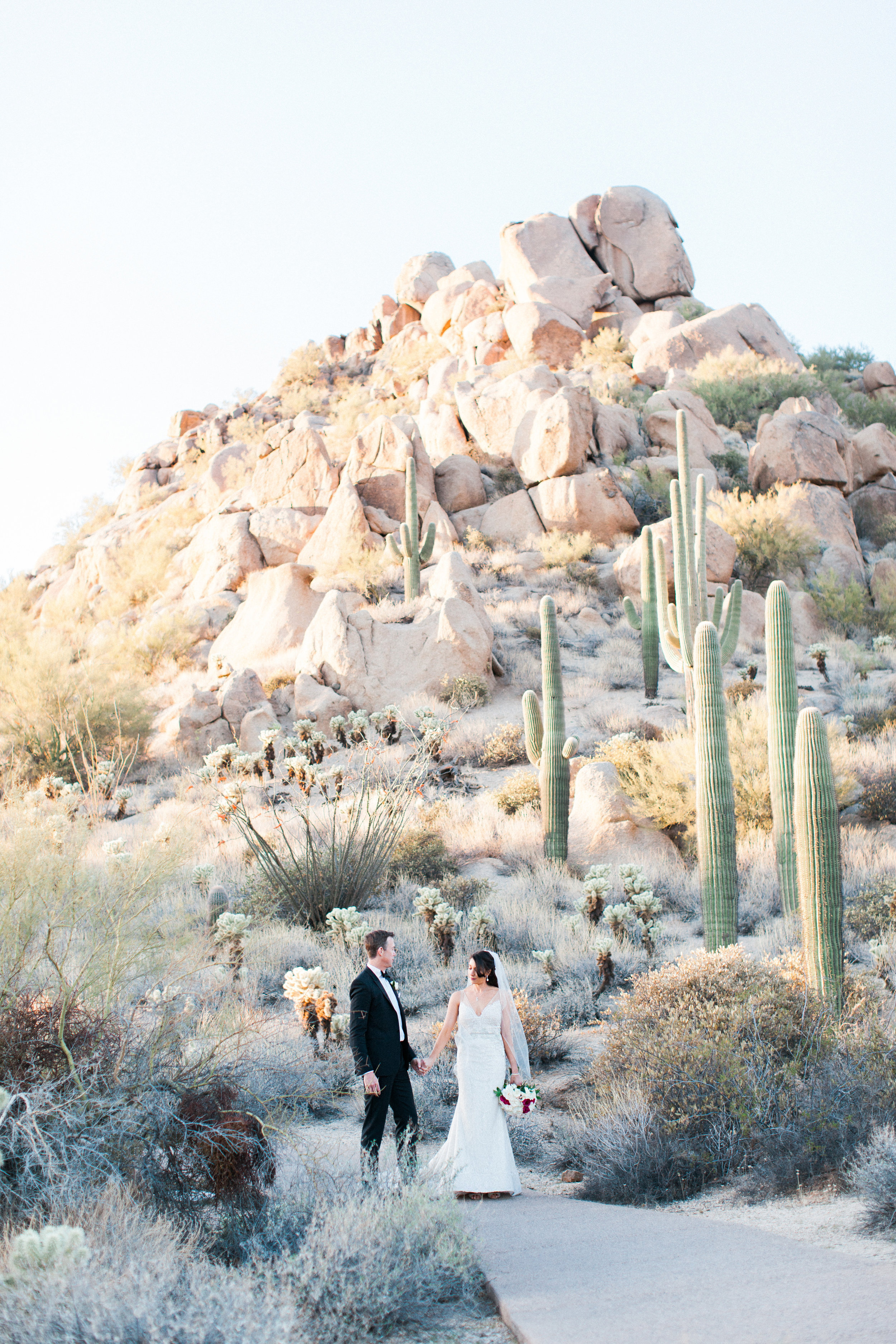 four seasons scottsdale luxury black tie Wedding